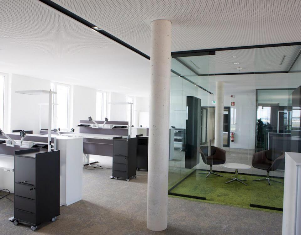 Großraum Arbeitsplatz