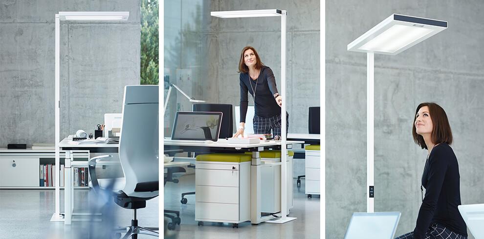 Lavigo Stehleuchte Büro