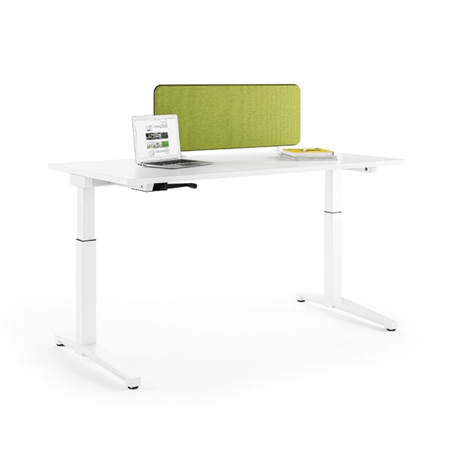 Assmann Canvaro Bürotische, Höhenverstellbare Tische, Schreibtische