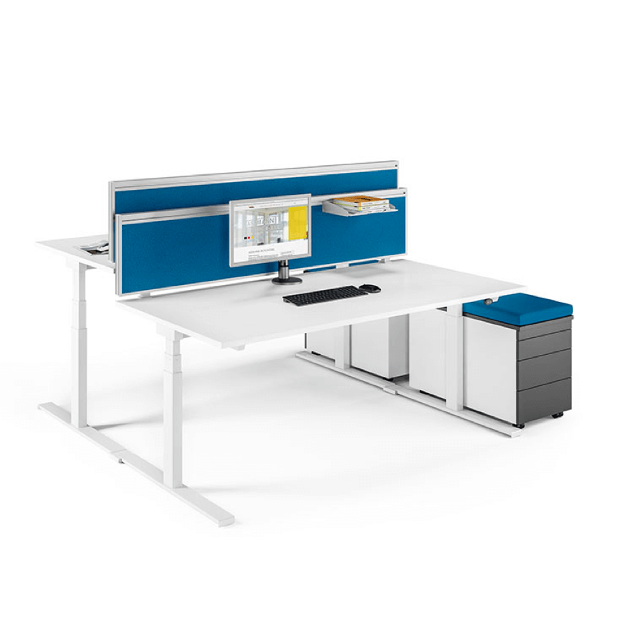 Assmann Sympas Bürotische, Höhenverstellbare Tische, Schreibtische